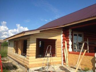 Строительство бревенчатого рубленого дома под ключ Фото 35