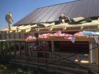Строительство бревенчатого рубленого дома под ключ Фото 28