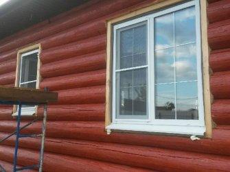 Строительство бревенчатого рубленого дома под ключ Фото 21