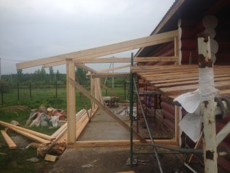 Строительство бревенчатого рубленого дома под ключ Фото 23