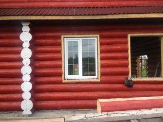 Строительство бревенчатого рубленого дома под ключ Фото 15