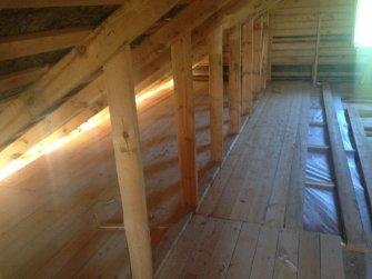 Строительство бревенчатого рубленого дома под ключ Фото 13