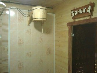 Строительство бани из рубленого бревна в Московской области фото 16