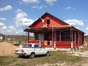 Строительство бревенчатого рубленого дома под ключ Фото 18