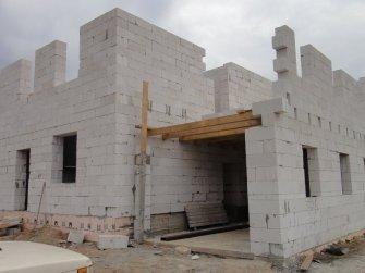 Возведение второго этажа дома