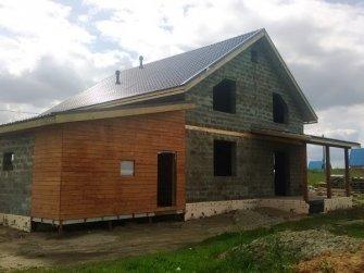 Строительство дома из арболита фото 16