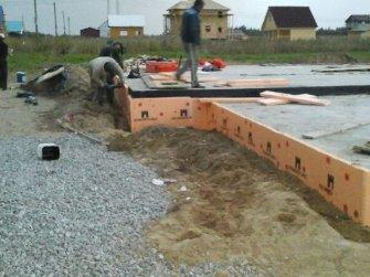 Строительство дома из арболита фото 3