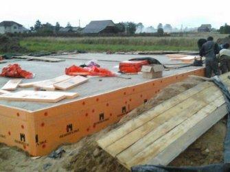 Строительство дома из арболита фото 2