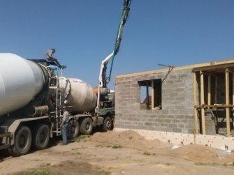 Строительство дома из арболита фото 6