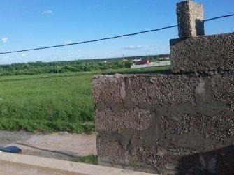 Строительство дома из арболита фото 12