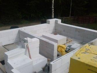Строительство дома из газобетона фото 21