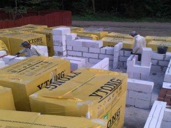 Строительство дома из газобетона фото 13