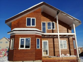 Строительство каркасного дома в Московской области фото 4